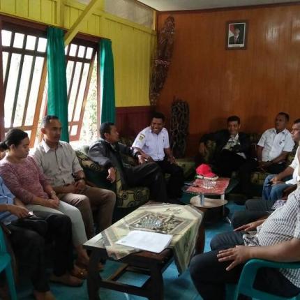 Sosialisasi dan Verifikasi Data Penerima LTSHE di Kabupaten Asmat
