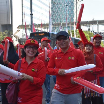 Tim Parade ASEAN 8