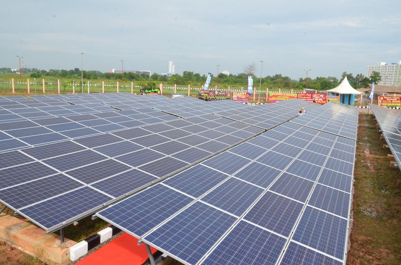Pembangkit Listrik Tenaga Surya (PLTS) Jakabaring 2 MW
