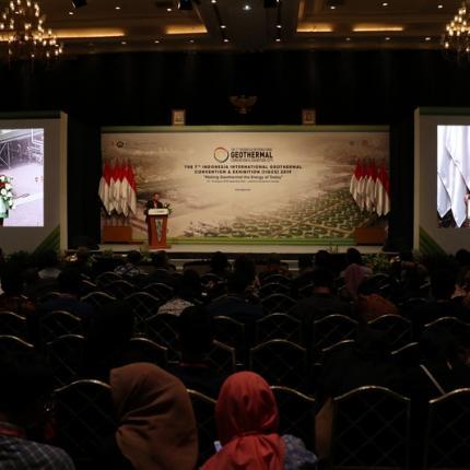 Sambutan Ketua Umum Asosiasi Panas Bumi Indonesia, Prijandaru Effendi pada Penutupan IIGCE ke-7 tahun 2019