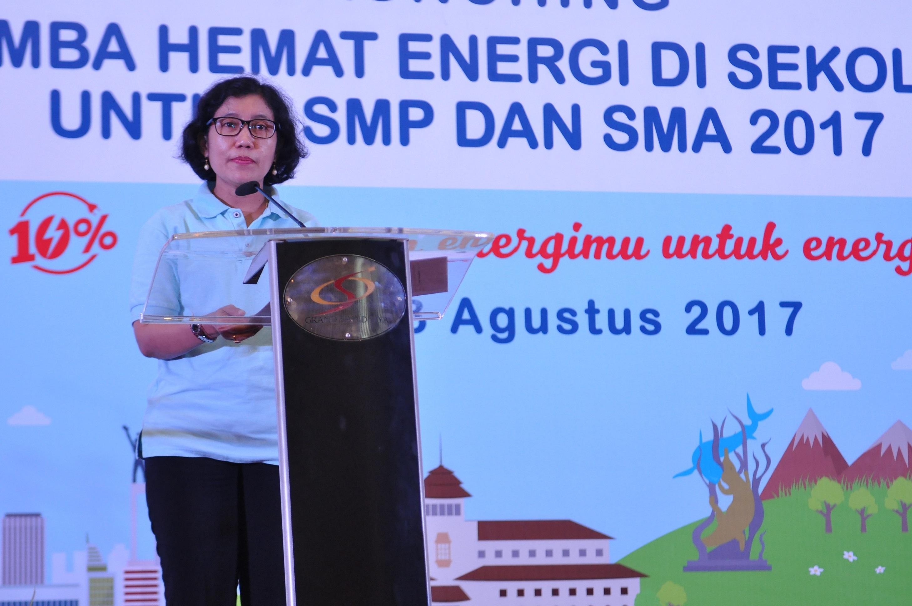 Direktur Konservasi Energi Menyampaikan Sambutan