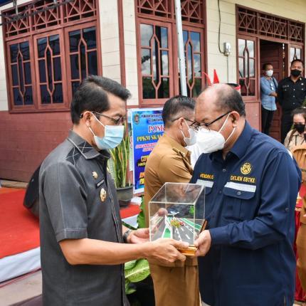 Salah satu Kabupaten di Kalimantan Tengah yang mendapatkan PJU-TS adalah Kabupaten Katingan, Kabupaten Katingan mendapatkan PJU-TS sebanyak 100 titik. (24/05/2021) (NS)