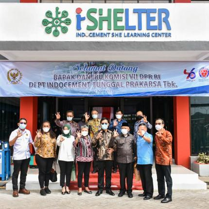 Kunjungan Spesifik Komisi VII DPR RI ke PT Indocement Tunggal Prakarsa Tbk bertujuan untuk mendapatkan informasi tentang perkembangan pembangunan di daerah, Bogor (25/03/2021) (NS)