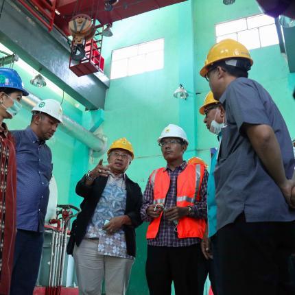 Direktur Jenderal EBTKE melakukan Kunjungan Kerja Spesifik ke PLTP Mataloko di Provinsi Nusa Tenggara Timur