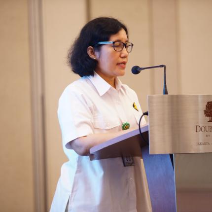 Sambutan Direktur Panas Bumi, Ida Nuryatin Finahari pada acara Energy Efficiency Training Week (EETW) 2018