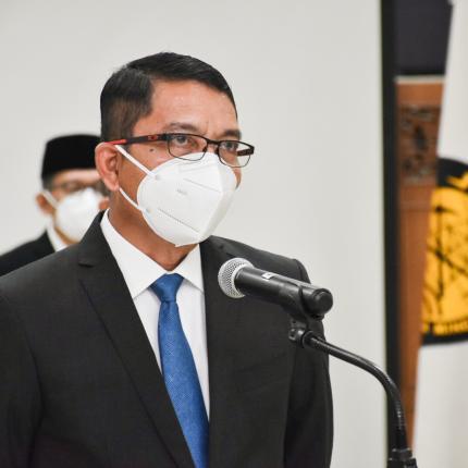 Pelantikan Pejabat Pimpinan Tinggi Pratama (Eselon II) di lingkungan Kementerian ESDM (01/02/2021)