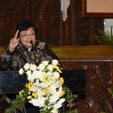 Sambutan Menteri Lingkungan Hidup dan Kehutanan, Siti Nurbaya Bakar pada Hari Aksi Pengendalian Perubahan Iklim 2018