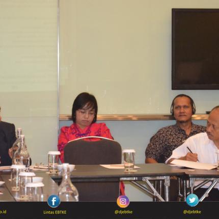 Direktorat Konservasi Energi menerima masukan dari berbagai pihak terkait kemajuan dari revisi PP 70/2009 tentang Konservasi Energi