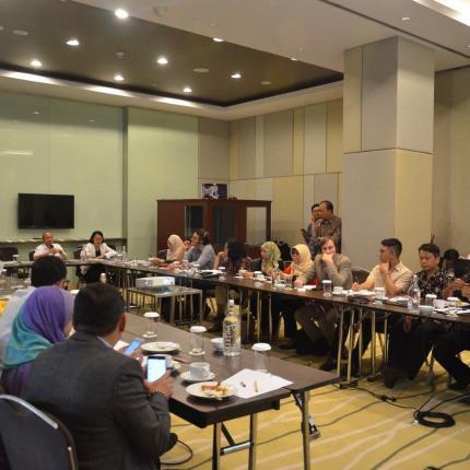Acara ini dihadiri oleh perwakilan dari India, perwakilan dari China, dan dari Stakeholder-stakeholder terkait Konservasi Energi