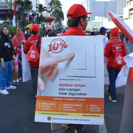 Tim Parade ASEAN dari KESDM 2