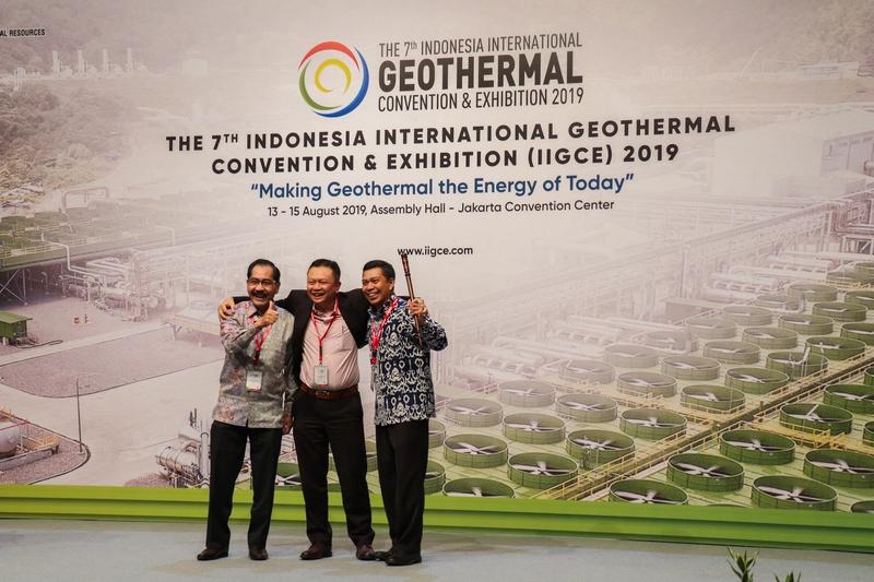 Penutupan dengan pendeklarasian Pertamina Geothermal Energy sebagai Tuan Rumah acara IIGCE ke-8 Mendatang
