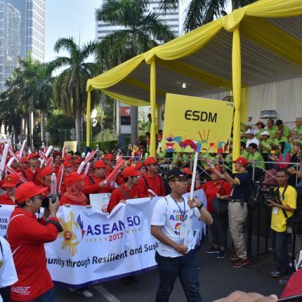 Tim Parade ASEAN dari KESDM 5