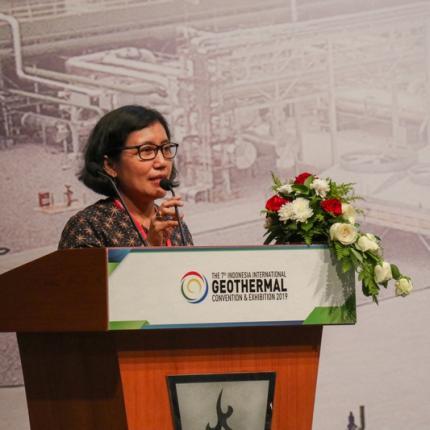 Sambutan Direktur Panas Bumi, Ida Nuryatin Finahari pada Penutupan IIGCE ke-7 tahun 2019