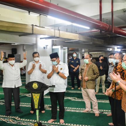 Peresmian Masjid At Taawwab di Lingkungan Ditjen EBTKE, Jakarta (05/05/2021) (NS)