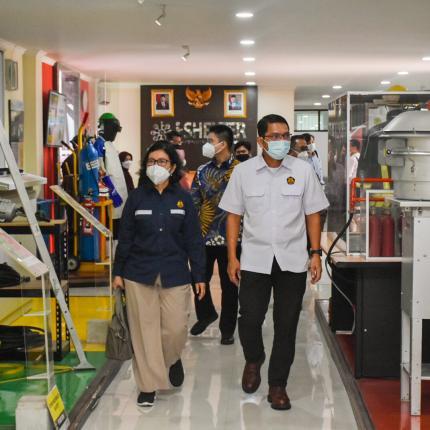 Dirjen EBTKE, Dadan Kusdiana hadir pada acara Kunjungan Spesifik Komisi VII DPR RI ke PT Indocement Tunggal Prakarsa Tbk di Citereup, Bogor (01/04/2021) (NS)