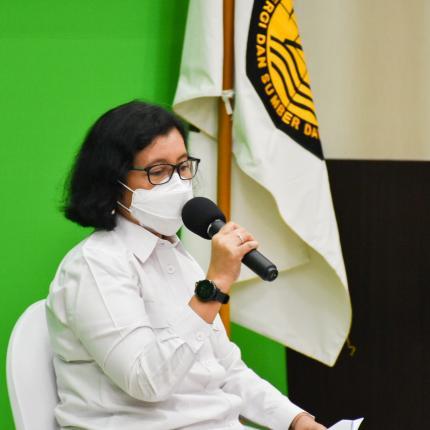 Konferensi Pers Capaian Kinerja Tahun 2020 dan Rencana Kerja Tahun 2021 Subsektor EBTKE di Cikini, Jakarta Pusat (14/01/2021)