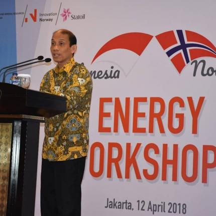 Sambutan Wakil Menteri Energi dan Sumber Daya Mineral, Archandra Tahar pada Indonesia - Norway Clean Energy Workshop