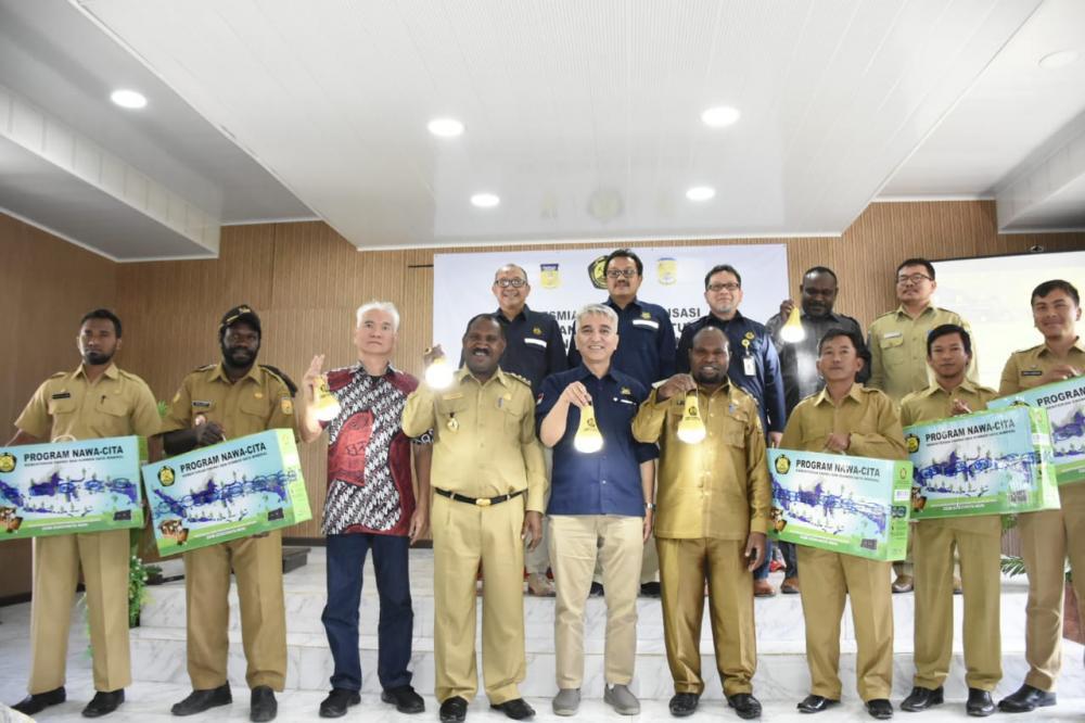Khusus Kabupaten Puncak Papua, selama tahun 2018 telag dipasang sebanyak 18.102 unit LTSHE yang tersebar 10 wilayah Distrik