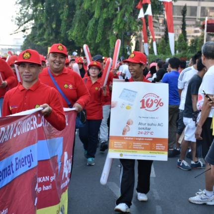 Tim Parade ASEAN dari KESDM 3
