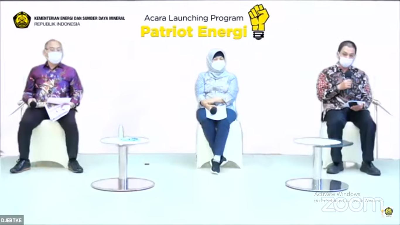 Program Patriot Energi adalah program pendampingan dalam membuka akses listrik bagi desa - desa di Indonesia yang belum teraliri listrik melalui optimalisasi penggunaan Energi Baru Terbarukan. Jakarta