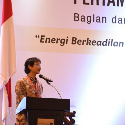 Sambutan Direktur Jendral EBTKE, Rida Mulyana