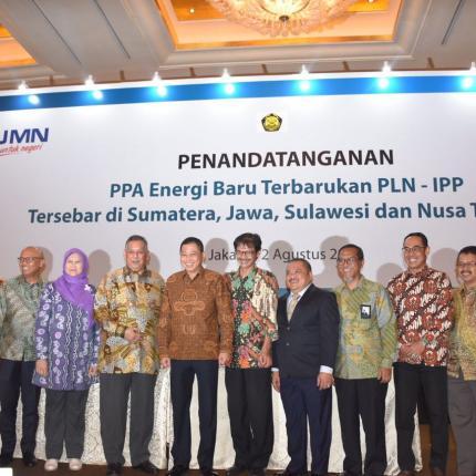 Menteri ESDM foto Bersama Tamu Undangan
