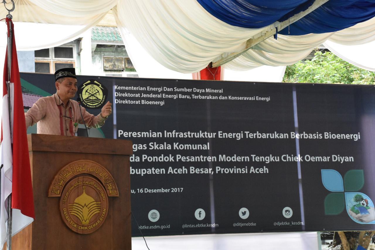 Proyek pembangunan ini dilaksanakan menggunakan pendanaan APBN pada tahun anggaran 2016 yang terdiri dari pembangunan 50 unit WC, instalasi IPAL, 2 digester biogas tipe fixed dome berukuran masing-mas