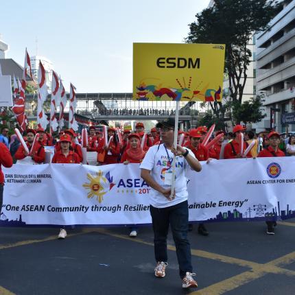 Tim Parade ASEAN 5