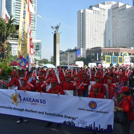 Tim Parade ASEAN dari KESDM 4